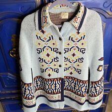 Vintage Sturbridge Cardigan Poncho Style Sweater southwestern Cape