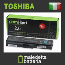 Batteria Ohmhero™ 10.8-11.1V 5200mAh REALI per toshiba L750D