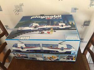 Playmobil 4016 vintage train radio commandé (pour pièces détachées ou réparation