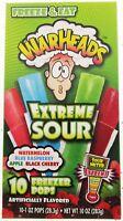 Freezer Pops Select Jolly Rancher WARHEADS Slush Puppie (10 freeze pops) ice pop