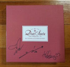 SNSD TTS autographed Dear Santa PROMO CD signed 3rd Mini Album