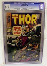 Marvel Comics CGC 6.5 THOR #149 WRECKER APP Journey mystery