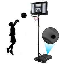 Portable Height Adjustable Basketball Hoop System Stand Set Indoor Outdoor adult