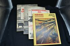 4 Vtg 1979-1982 Wammes Guns Inc Sporting Goods/Hunting Catalogs-Bellefontaine,Oh