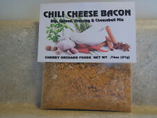 Chili Cheese Bacon Dip Mix, makes dips, spreads, cheese balls &salad dressings