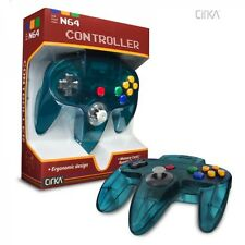 Ice Blue - Turquoise -  Controller - Game Pad - For Nintendo 64 - N64 - *NEW*