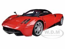 PAGANI HUAYRA RED 1/18 DIECAST CAR MODEL BY MOTORMAX 79160