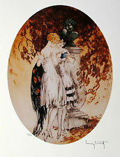 """LOUIS ICART """"LOOK"""" Signed Limited Edition Small Giclee Art"""