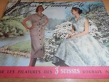 catalogue de mode les 3 suisses VINTAGES Roubaix 1956