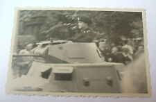 2ww german snap shot photograph of a  early german  tank