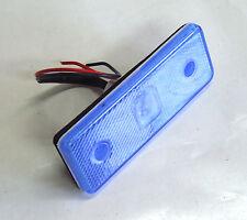 1 X 12v Bleu 4 LED SMD Feu De Gabarit Pour Caravane Chassis Remorque Camion Bus