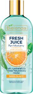 Bielenda Fresh Juice Orange Micellar Water Moisturizing Sensitive Skin 500ml