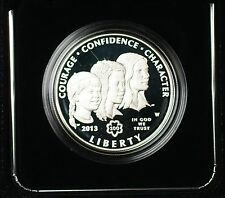 2013 W Girl Scouts Commemorative Proof Silver $1 Coin Original Mint Packaging