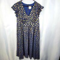 Modcloth Truly You Polka Dot Dress Size 2x