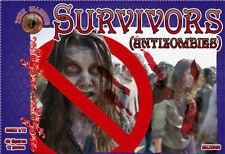 Survivors (antizombies) - Scale Plastic Model (48 figures) 1/72 Alliance 72038
