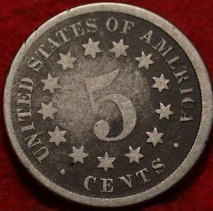 1868 Philadelphia Mint Shield Nickel