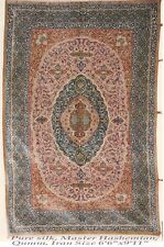 Persian Rug 4- Pre-Revelution Qum pure persian silk rug
