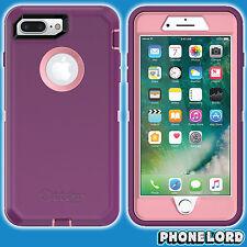 Genuine OtterBox Defender case cover iPhone 7 8 PLUS Rugged Vinyasa Purple Pink