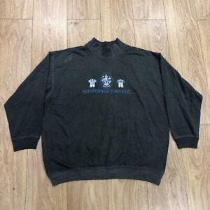 Vintage Huddersfield Town AFC Sweater Sweatshirt XL Extra Large Grey B6070