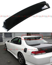 For 1997-2001 5th Gen Honda Prelude JDM Blk Rear Window Roof Visor Aero Spoiler