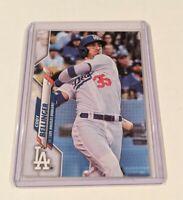 2020 Topps Series 1 Cody Bellinger No Topps Foil Logo ERROR Los Angeles Dodgers