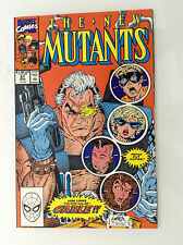 THE NEW MUTANTS#87 1ST CABLE HIGH GRADE if GCCed 9.4 or 9.6 9.8 MARVEL COMICS NM