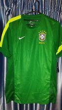 Nike Brazil Brasil 2014 Men Football Soccer Jersey Shirt Training 524536-302 L