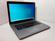 Lenovo Ideapad U410, 14 Zoll, 240GB SSD, i3-3217M, Windows 10 Notebook rot