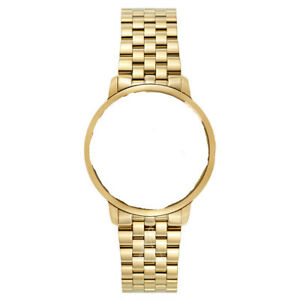 New 19mm Raymond Weil Toccata Mens Gold Watch Band Bracelet 5488-P-00300