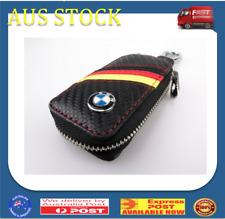 BMW Key Holder Wallet - Car Keyring Case - Black Yellow Red