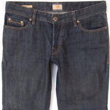 Mens HUGO BOSS ORANGE 31 Regular Straight Blue Jeans W34 L32