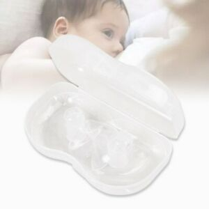 2pcs Nipple Shield Semicircle Safe Non-toxic Breastfeeding Shield for Ladies
