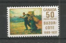CANADA 1969 SUZOR-COTE PAINTER SG,634 UM/M NH LOT 4822A