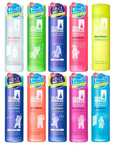 JAPAN Shiseido SEA BREEZE Deo & Water Deodorant Water 160ml Multi Flavor TRACK