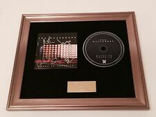 SIGNED/AUTOGRAPHED - THE MACCABEES - MARKS TO PROVE IT FRAMED CD PRESENTATION.