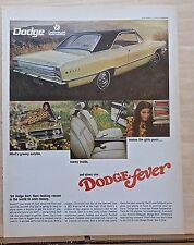 1967 magazine ad for Dodge - 1968 Dart, Groovy outside, Makes girls purr