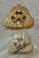 Kuwait Army Hat Badge Set Desert Storm