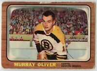 1966-67 Topps Hockey #95 Murray Oliver Good Condition (2020-03)
