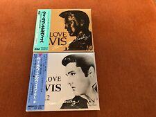 Elvis Presley We Love Elvis Volume 1 & 2 Japan Six CD'S