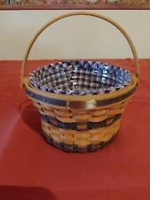 Longaberger Jw Miniature Basket