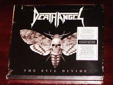 Death Angel: The Evil Divide - Limited Edition CD + DVD Set 2016 Bonus Track NEW