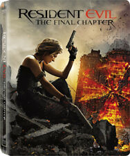 Resident Evil: The Final Chapter  Blu-ray Limited Edition Steelbook  New