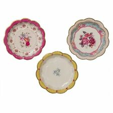 Pack Of 12 Talking Tables Truly Scrumptious Plates Random Colour (TS3)