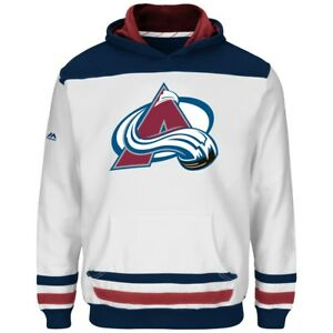 """Colorado Avalanche Youth Majestic NHL """"Lil' Double Minor"""" Hooded Sweatshirt"""