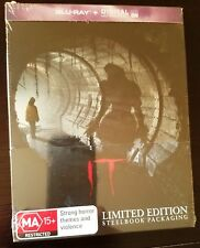 IT (2017) Blu-ray Australia Exclusive Limited Edition STEELBOOK