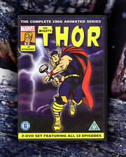 MARVEL  THE MIGHTY THOR  1966  The Complete Animated Series Region 2 DVD Box Set