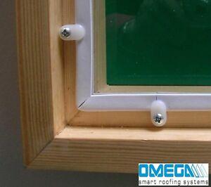 DIY Secondary Glazing Kit: Glazing Panel + Fixing / 1015mm x 1015mm+FREE cutting