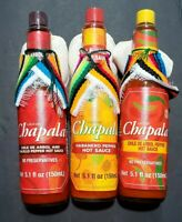 Chapala Hot Sauce Trio 5.1 oz Bottles (3 Pack)