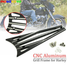 CNC Engine Cooler Radiator Frame Grill Cover For Harley Touring Electra Glide