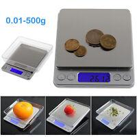 500g x 0.01g Precision Balance Mini LCD Jewelry Digital Electronic Weight Scale